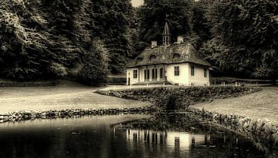 Photograph - Liselund Manor - Mon Denmark by Kordi Vahle