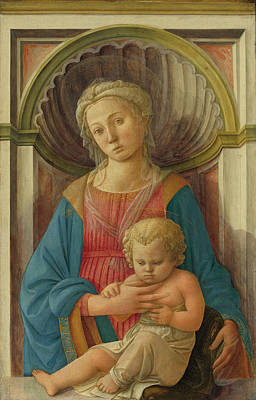 Painting - Madonna And Child by Fra Filippo Lippi