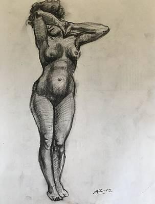 Masterstudy Art Print by Alejandro Lopez-Tasso