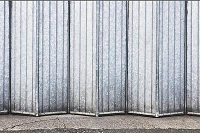 Metal Door Art Print by Tom Gowanlock