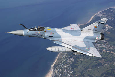 Cockpit Photograph - Mirage 2000c Of The French Air Force by Gert Kromhout