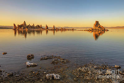 Photograph - Mono Lake Sunset by Benny Marty