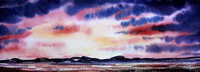 Montana Landscape Art Print by Kevin Heaney
