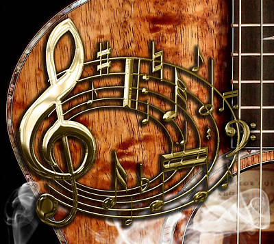 Musical Collection Art Print by Marvin Blaine