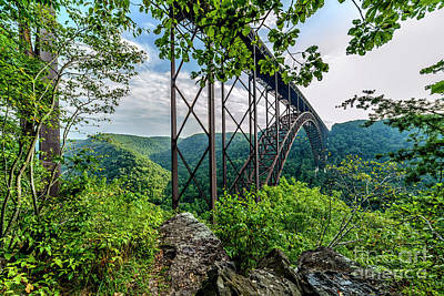 New River Gorge Bridge Photograph - New River Gorge Bridge by Thomas R Fletcher