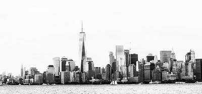 Empire State Photograph - New York Skyline by Martin Newman