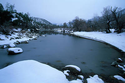 North Fork Kern River Art Print by Soli Deo Gloria Wilderness And Wildlife Photography