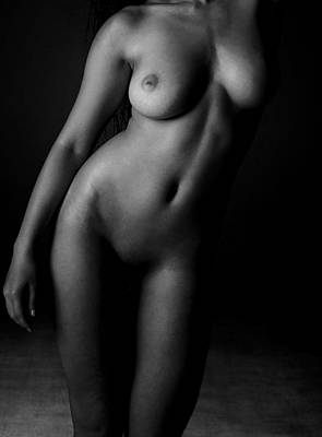 Nude Photograph - Nude Woman by Snowflake Obsidian