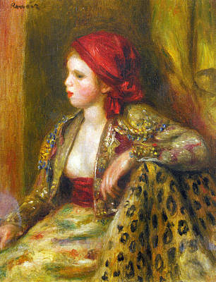 Painting - Odalisque by Pierre-Auguste Renoir