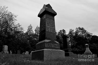 Photograph - Odd Fellows Cemetery by Ben Schumin