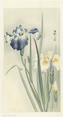 Yellow Painting - Ohara Koson by Eastern Accent