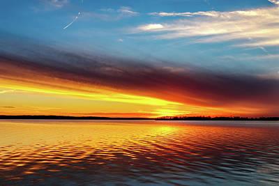 Photograph - Oklahoma Sunset by Doug Long