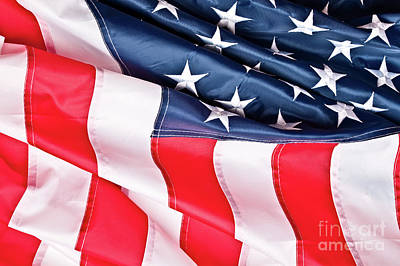 Photograph - Old Glory Flag by Gualtiero Boffi