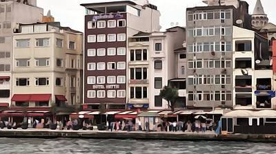 Photograph - On The Bosphorus by Lisa Dunn