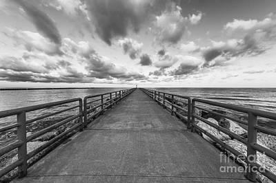 Onekama Pier Art Print by Twenty Two North Photography