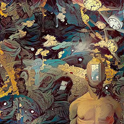 Surrealism Digital Art - Open Mind by Bruce Rolff