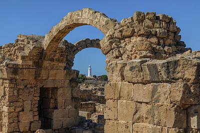 Orpheus Photograph - Paphos Archaeological Park - Cyprus by Joana Kruse