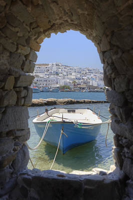 Historical Photograph - Paros - Cyclades - Greece by Joana Kruse