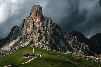 Photograph - Passo Di Giau - Italy by Joana Kruse