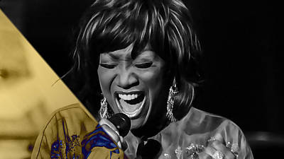 Patti Labelle Collection Print by Marvin Blaine