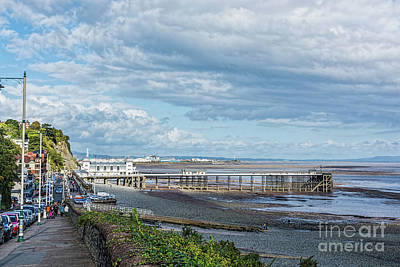 Photograph - Penarth Pier 1 by Steve Purnell