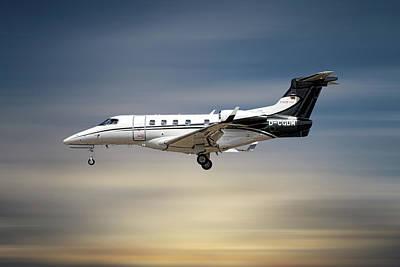 Mixed Media - Phenom 300 Arrow by Smart Aviation