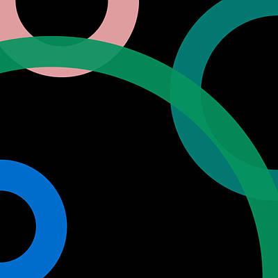 Drawing - 5 - Phi Word Circle by REVAD David Riley