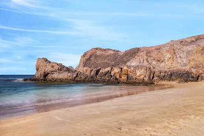 Beach Photograph - Playa Papagayo - Lanzarote by Joana Kruse