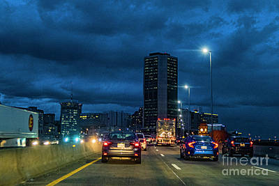 Photograph - 5 Pm Rush Hournon I 95 On 12.12.2017 5718t by Doug Berry