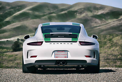 Photograph - #porsche #911r #print by ItzKirb Photography