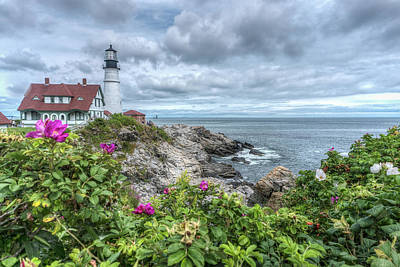 Photograph - Portland Headlight by Jane Luxton