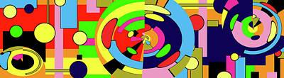 Digital Art - Postmodernism - Modernism by Sir Josef - Social Critic - ART