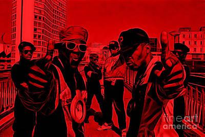 Public Enemy Collection Art Print