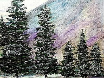 Purple Mountain Majesty Original by Scott D Van Osdol