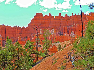 Photograph - Queen's Garden Trail In Bryce National Park, Utah  by Ruth Hager