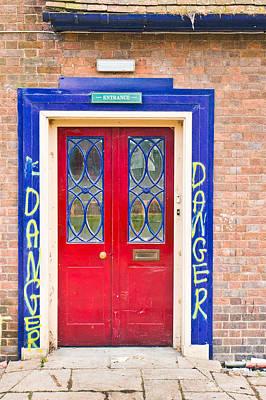 Reclaim Art Photograph - Red Door by Tom Gowanlock