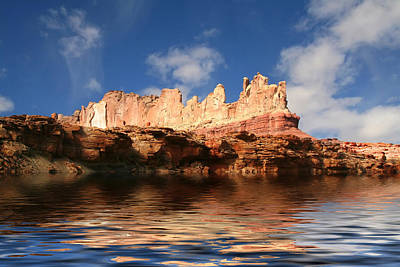 Photograph - Red Rock Reflections by Mark Smith