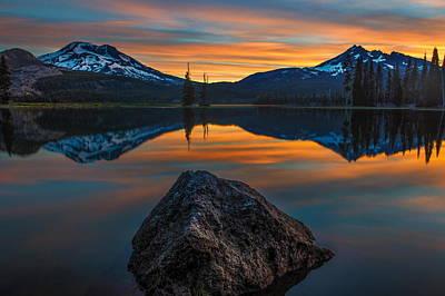 Sunset Digital Art - Reflection by Maye Loeser