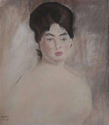 Pastel - Reproduction by Masami Iida
