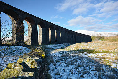 Dale Photograph - Ribblehead Viaduct by Nichola Denny