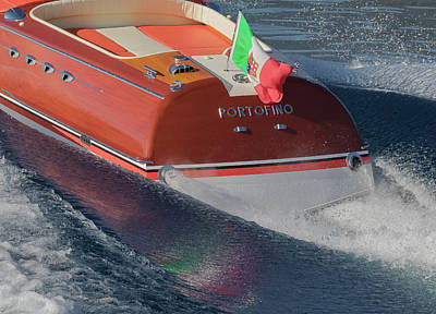 Riva Portofino Art Print