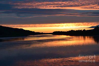 Photograph - River Suir Sunset by Joe Cashin