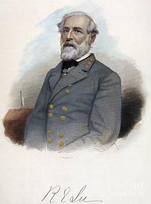 Robert E. Lee (1807-1870) Art Print by Granger