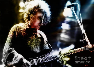 Music Mixed Media - Robert Smith Collection by Marvin Blaine