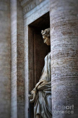 Marble Photograph - Rome by HD Connelly