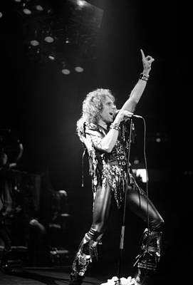 Photograph - Ronnie James Dio by Rich Fuscia