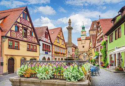 Photograph - Rothenburg Ob Der Tauber by JR Photography