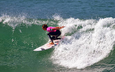 Photograph - Sally Fitzgibbons by Waterdancer