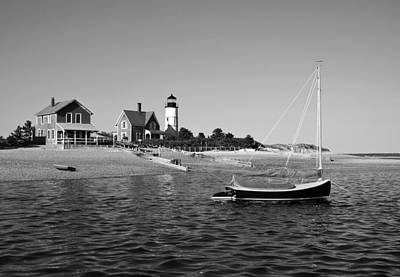 Photograph - Sandy Neck Lighthouse by Charles Harden