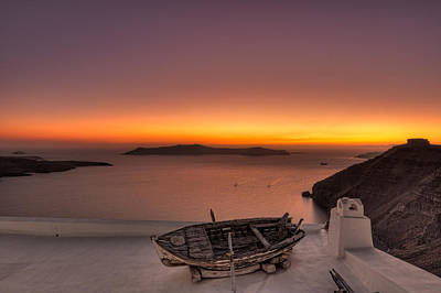 Santorini - Greece Art Print